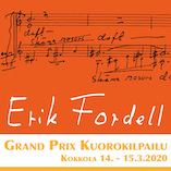 Erik Fordel kuorokilpailun logo